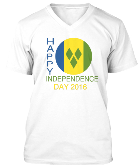 Happy Independence Day 2016 T-Shirt Front