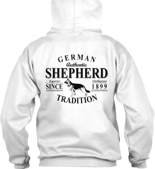 Very Cool German Shepherd 2-Sided Hoodie