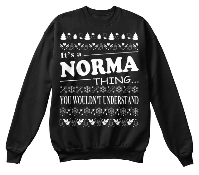 NORMA THING - CHRISTMAS T-SHIRT