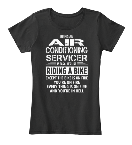 Air Conditioning Servicer - T-Shirt