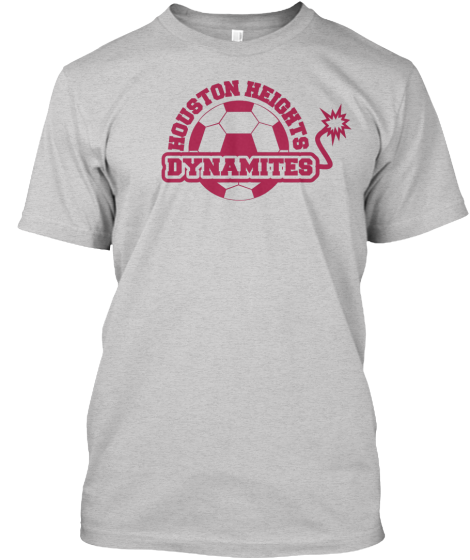 Support The Houston Dynamites - T-Shirt