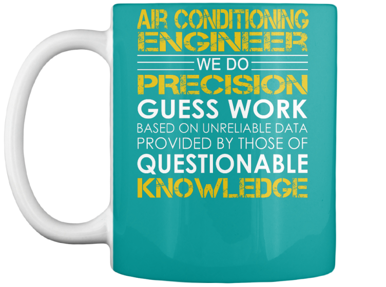 Air Conditioning Engineer Job Title - T-Shirt