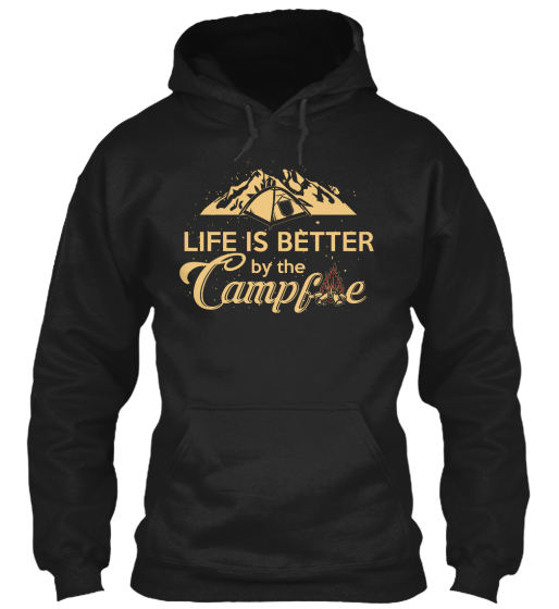 Life Is Better When Camping - Long Sleeve T-Shirt