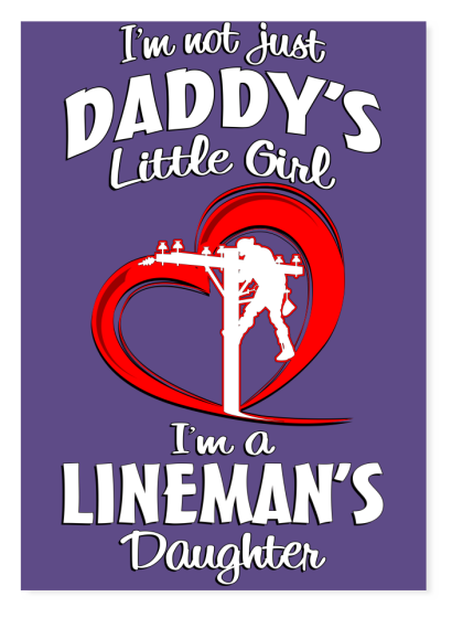 Lineman Daddy's Little Girl