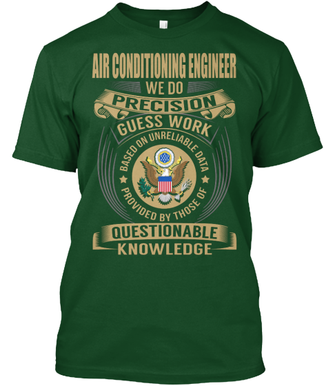 Air Conditioning Engineer - T-Shirt