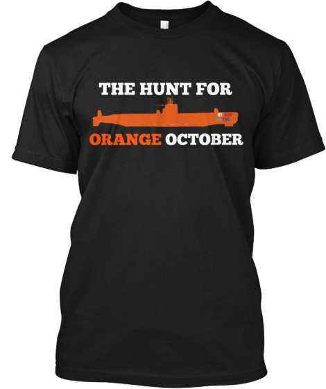 THE HUNT FOR OCTOBER ORANGE