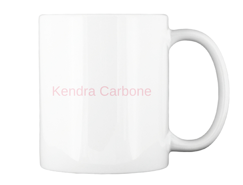 Kendra Carbone White T-Shirt Back