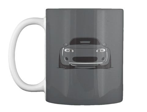 Nc Mug Dark Grey Mug Front