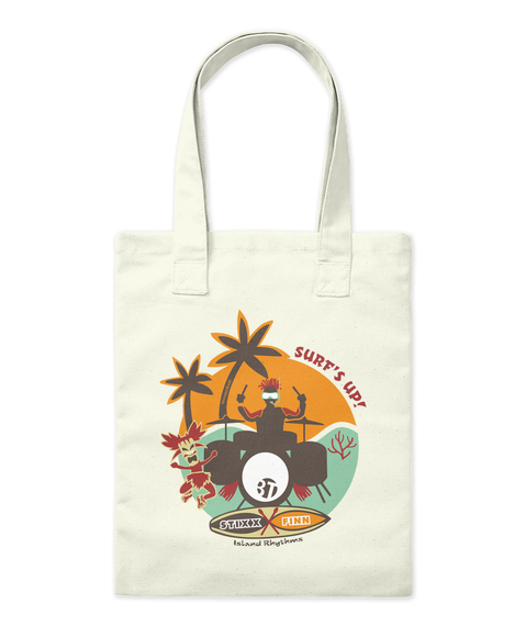 Surf's Up! Tote Bag Front