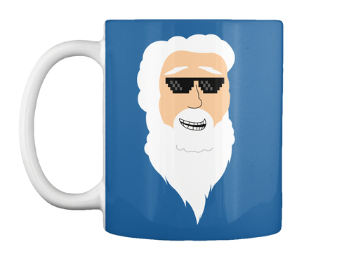 Limited Edition God Mug Dk Royal Mug Front