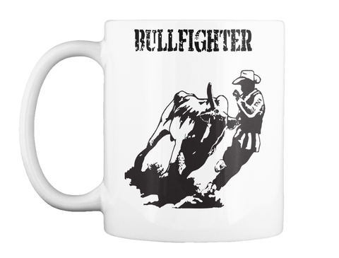 Bullfighter White T-Shirt Front
