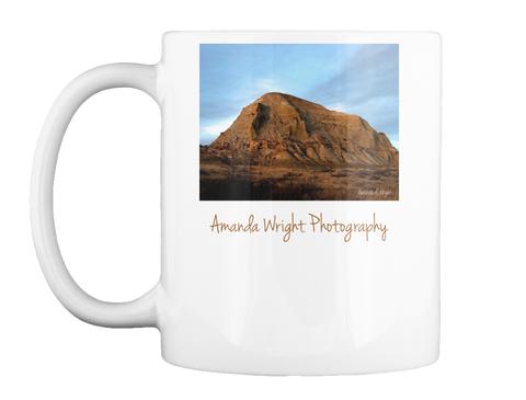 Amanda Wright Photography White Mug Front