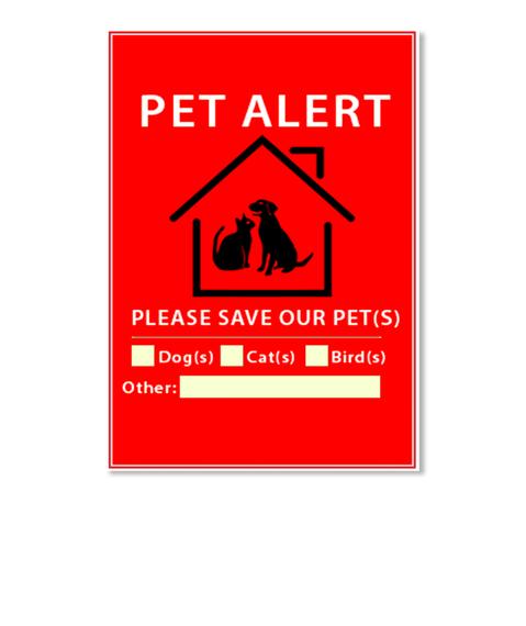 Pet Alert Stickers!
