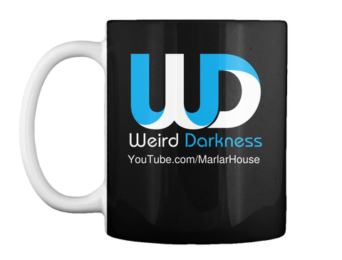 You Tube.Com/Marlar House Black Mug Front