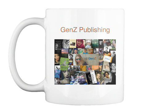 Gen Z Publishing White T-Shirt Front
