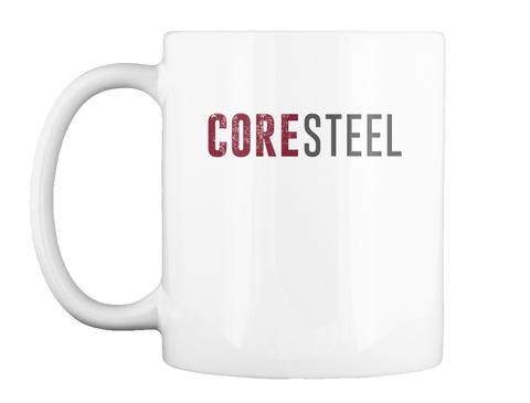 Coresteel White Mug Front
