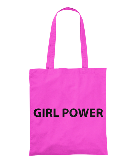 #Be Bold For Change Girl Power  Tote Tote Bag Front