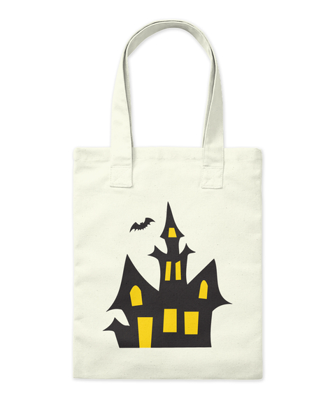 Halloween House   Tots Natural T-Shirt Front
