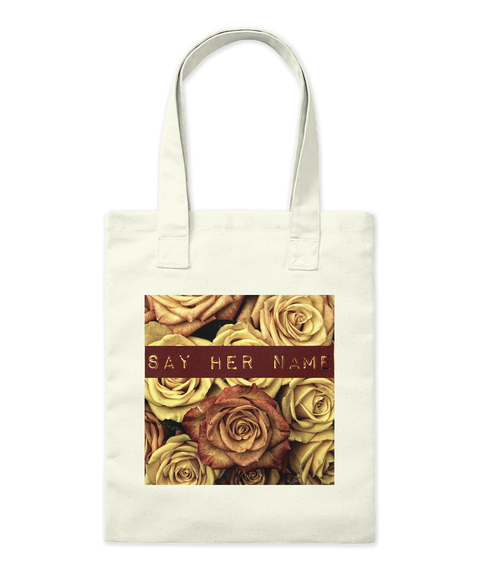 Say Her Name Tote Bag Front