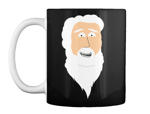 Limited Edition God's To Do List Mug Black Mug Front