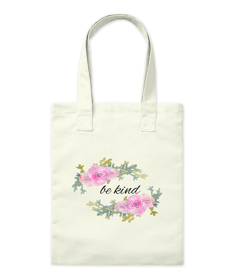 Be Kind Tote Bag Front