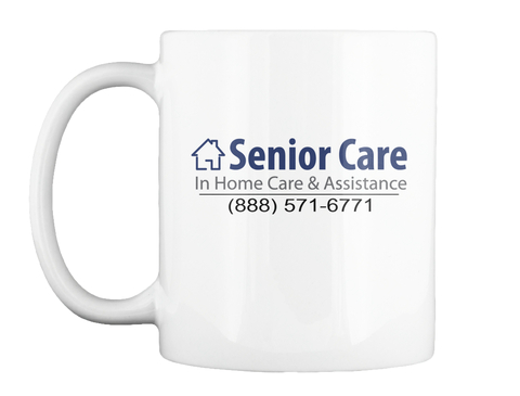 Senior Care Mug White Mug Front