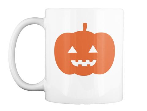 Pumpkin Halloween Mug White Mug Front