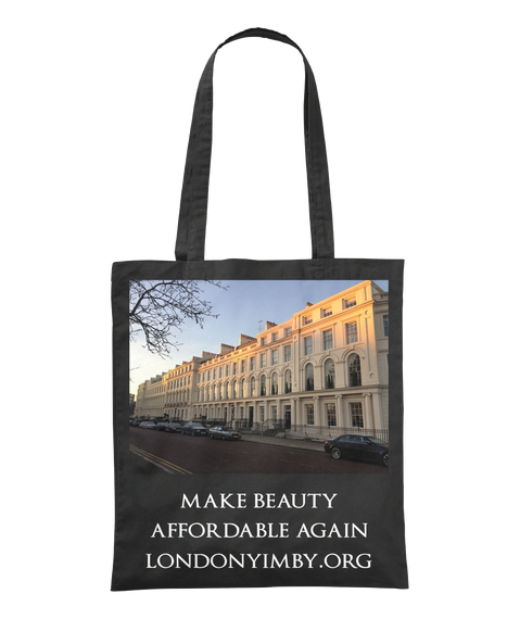 Make Beauty Affordable Again Londonyimby.Org Black Tote Bag Front