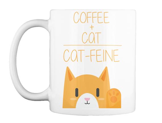 Cattfeine Mug Mug Front