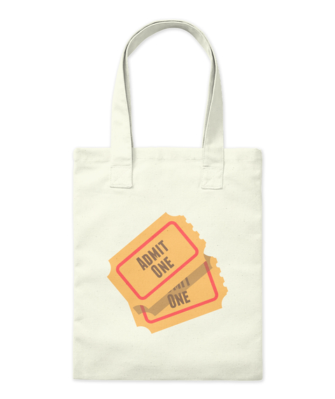 Adimt One One Natural Tote Bag Front