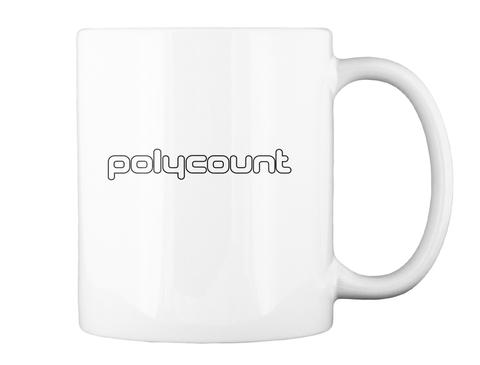 Polycount White Mug Back