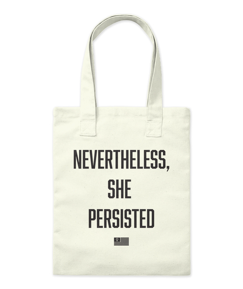 She Persisted   Tote Tote Bag Front