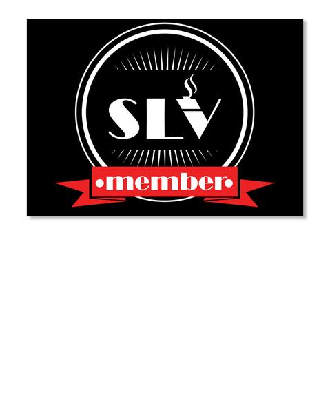 Slv Member Black T-Shirt Front