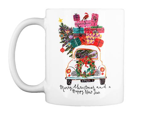 Merry Christmas Mugs White Mug Front
