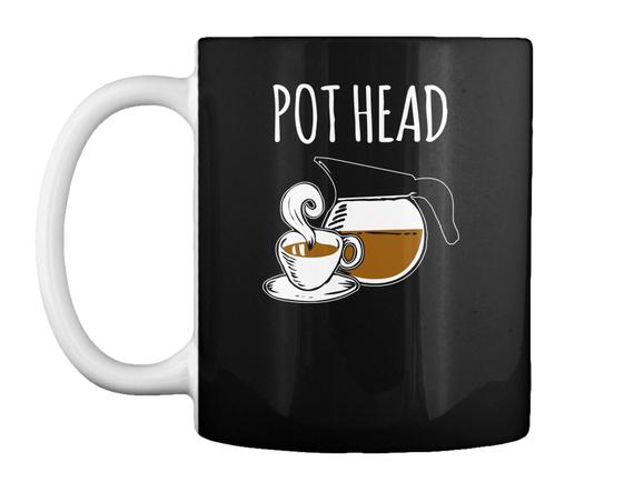 Pot Head Mug Front