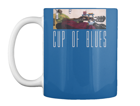 Cup Of Blues Dk Royal Mug Front