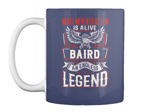 Legend Baird Dk Navy T-Shirt Front