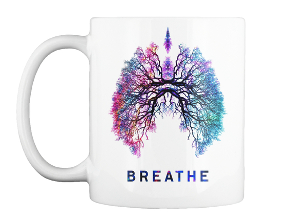 Breathe Mug Front