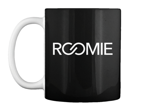 Roomie Black Becher Front