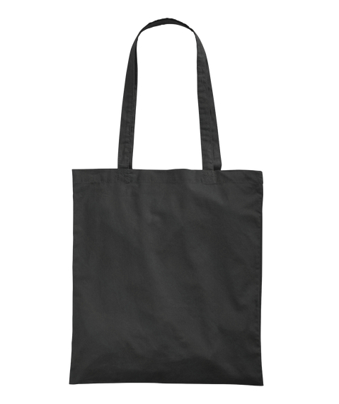 Delta Heavy Black Tote Black Tote Bag Back