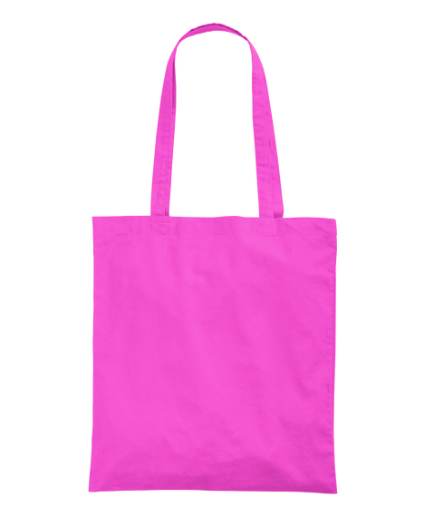 Happy New Year  Fuchsia Tote Bag Back