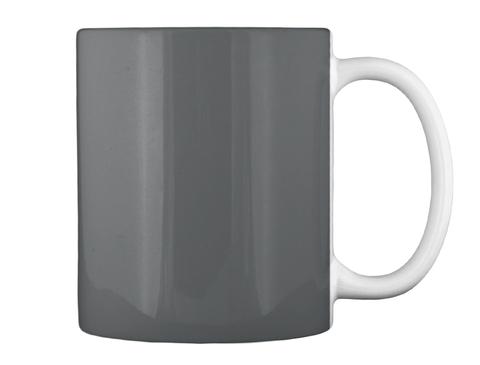 Halloween Mugs  Dk Grey Mug Back