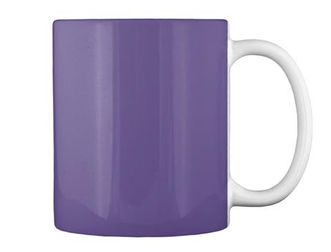 Halloween   Mug Purple Mug Back