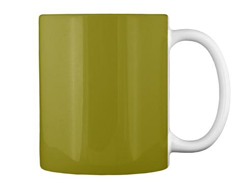 New Homebrew Mugs! Olive Green Mug Back