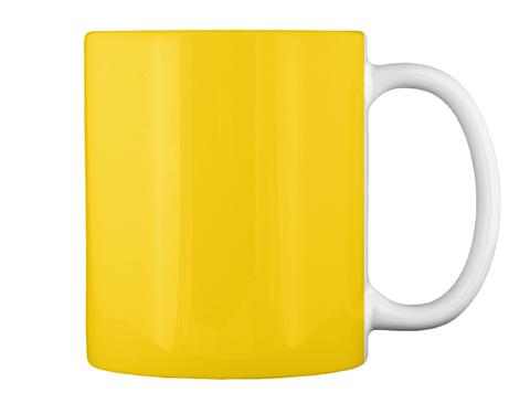 Best Friend Opa! Lemon Yellow Mug Back