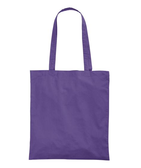 Wine Mood Tote Purple T-Shirt Back