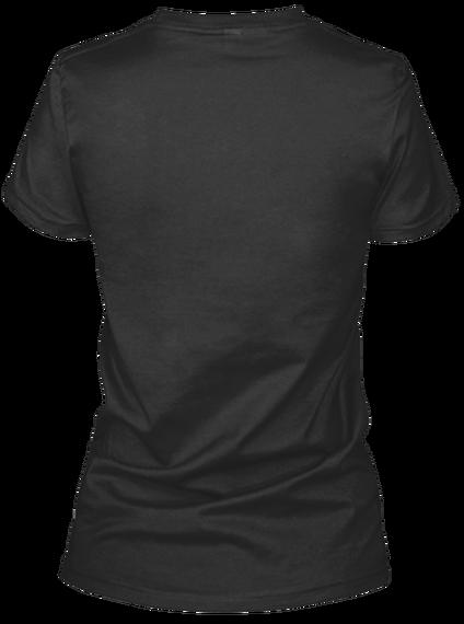 Ukulele Hunt T Shirt: Women's Black Black T-Shirt Back