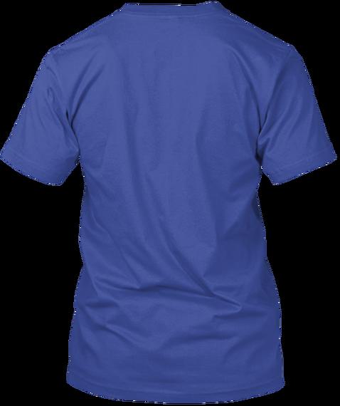 Limited Edition &Quot;Team Hank&Quot; Shirt Deep Royal T-Shirt Back