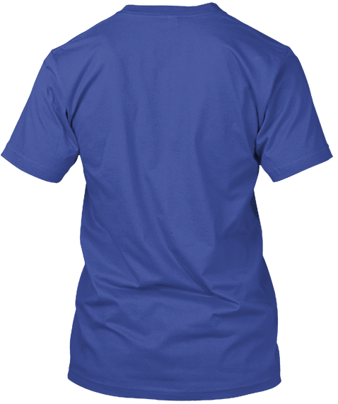 The Room Limited Edition Tee Deep Royal T-Shirt Back