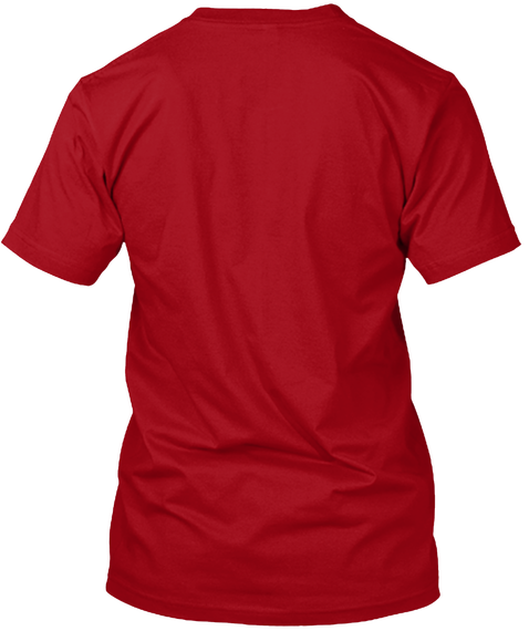 Limited Edition   Come And Take It!   Deep Red T-Shirt Back